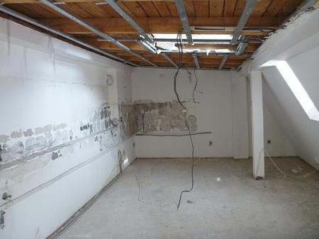 インテリアの総再建中空フラット