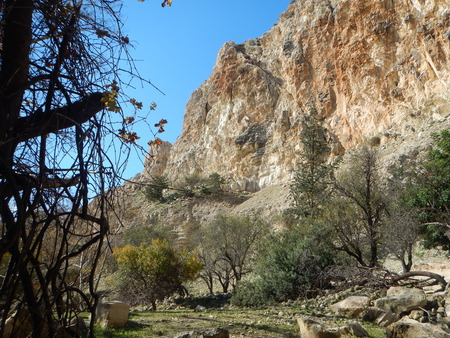 beautiful famous Avakas gorge in western cyprus