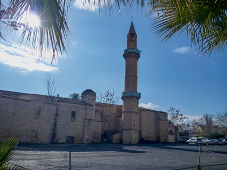 a mosque in nicosia city in cyprus