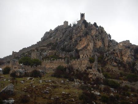 hilarion: mediaval fort st hilarion castle in northern cyprus