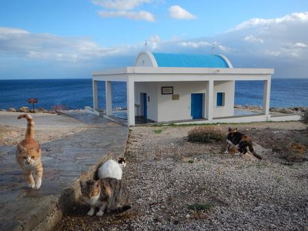 agioi anargioi church in cavo greko in cyprus