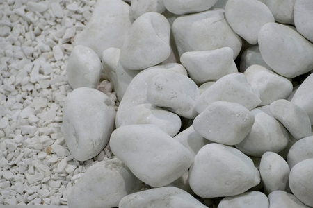 a texture of a decorative stones for garden Stok Fotoğraf