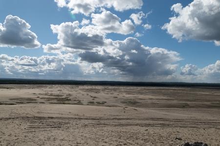 Pustynia Bledowska sand desert in the southern poland surrounded by woods Zdjęcie Seryjne