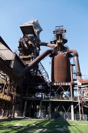 huge outdoor heavy industry and mining museum in ostreva vitkovice in czech republic Editöryel