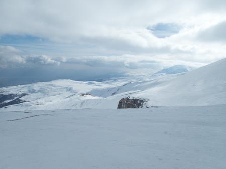 a beautiful winter skiins season in sar planina mountains in macedonia Reklamní fotografie - 119582001