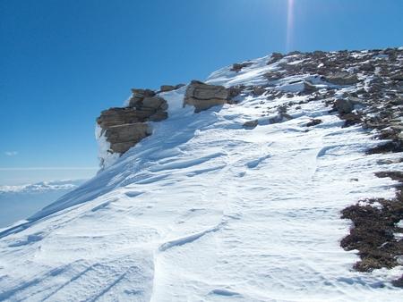 a beautiful winter skiins season in sar planina mountains in macedonia Reklamní fotografie - 119582144