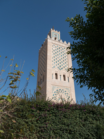 typicel arabic architecture in morocco in northern africa