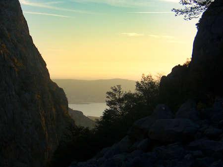 mala paklenica gorge in velebit national park in croatia