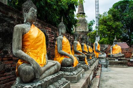 chai: Wat Yai Chai Mongkol Temple.