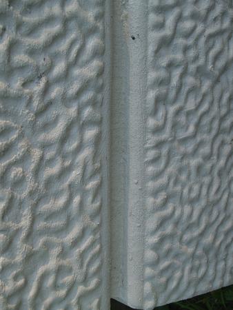 parget: Closeup of a surface of textured stück flowerpot