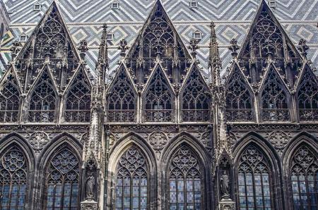 saint stephen cathedral: St Stephen s cathedral, Vienna, Austria Stock Photo