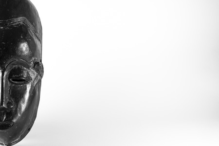 maschera tribale: African maschera tribale Archivio Fotografico