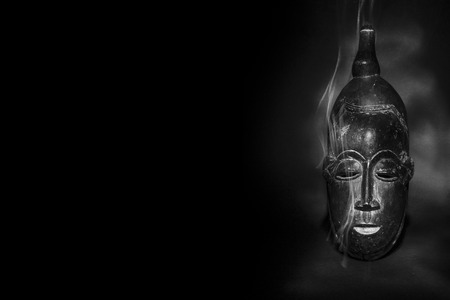 maschera tribale: Magico maschera tribale africana