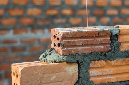 Brick wall work