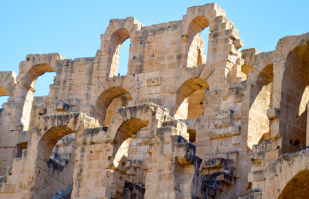 amphitheatre: Colosseum in Tunisia