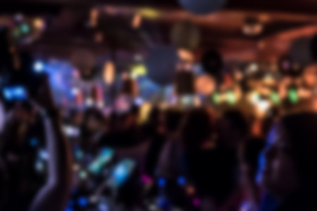 Abstract image of a party