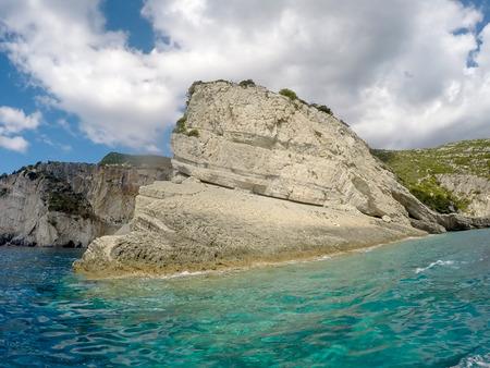 Beautiful seascape of Zakynthos, Greece