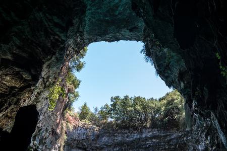 limnetic: Melissani Lake in Kefalonia, Greece