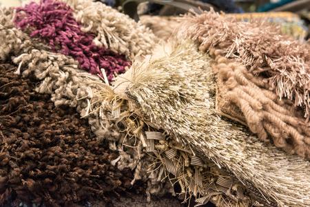 carpet and flooring: Carpet samples