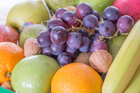 Background of tropical fruit Stock fotó