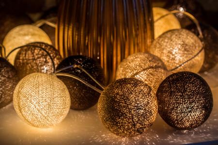 Light balls decoration
