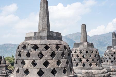 Borobudur Temple, in Jogjakarta - Java - Indonesia