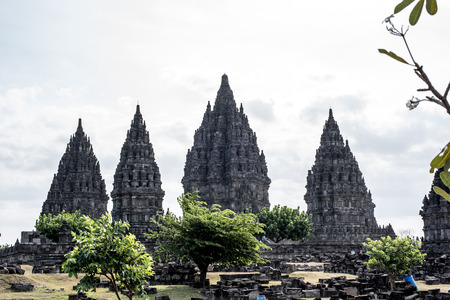 Prambanan temple - Jogjakarta - Indonesia Stock fotó