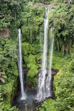 Sekumpul waterfall Bali Stock fotó