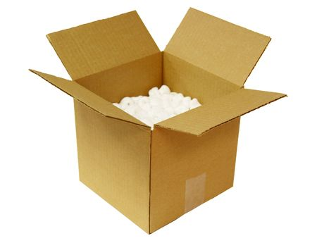 Open Cardboard Box photo
