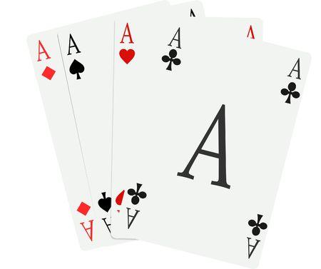 tarjetas de juegos  Foto de archivo