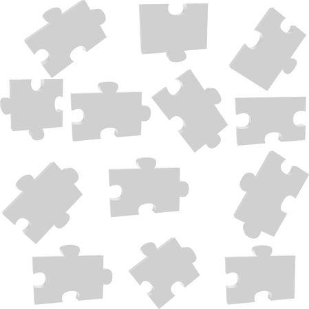 pieces od a puzzle