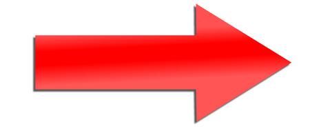 arrow as an internet icon