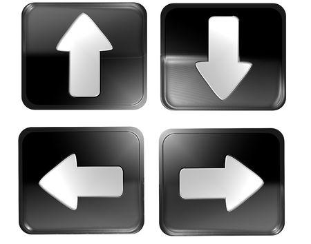 webdesign - navigation buttons