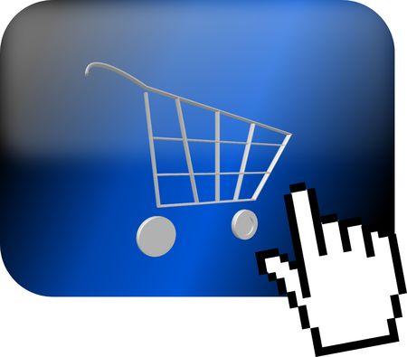 webdesign, internetshop Stock Photo
