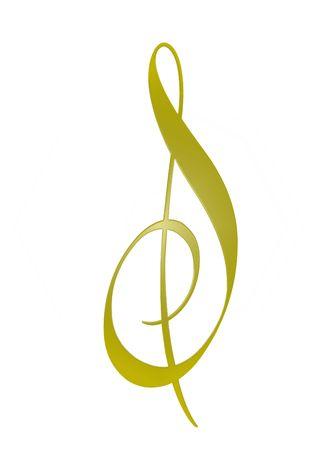 golden music sheet