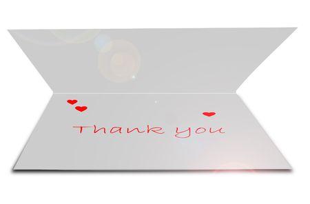 tarjeta de felicitaci�n  Foto de archivo