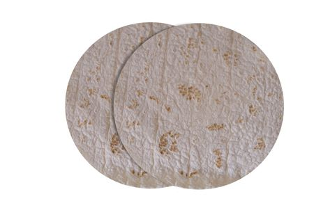 dos rollos de tortilla