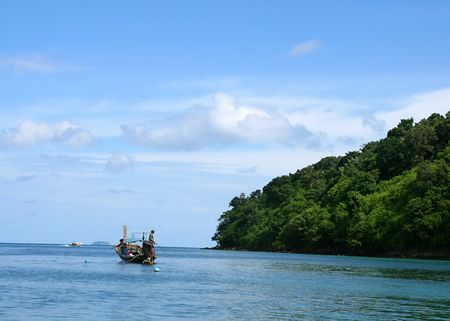 태국의 피피 섬