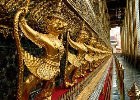 Temple of the Emerald Buddha in Thailand