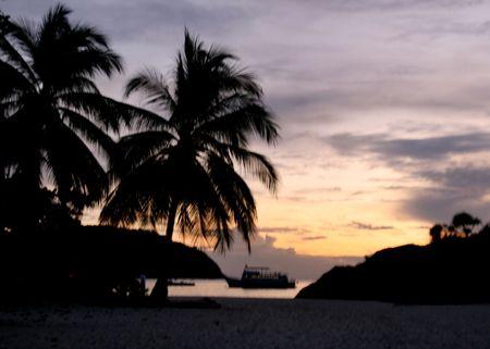 pulau:  pulau redand,malaysia Stock Photo