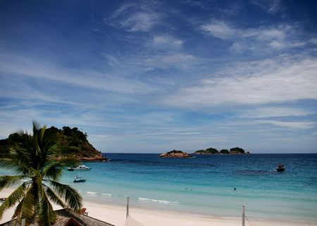 pulau: pulau redang,malaysia Stock Photo