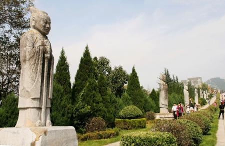 Qianling Mausoleum in Xi an,China Stock fotó - 15860599