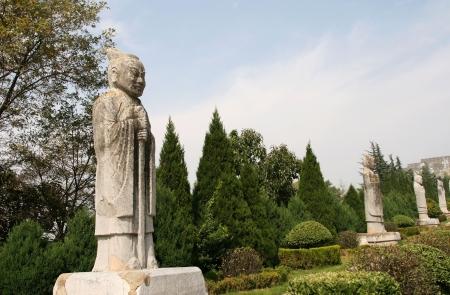 Qianling Mausoleum in Xi an,China Stock fotó - 15860598