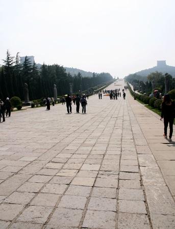 Qianling Mausoleum in Xi an,China Stock fotó - 15860594