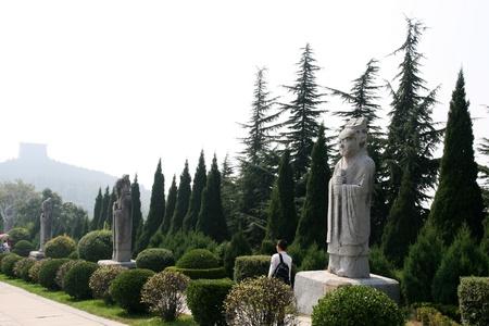 Qianling Mausoleum in Xi an,China Stock fotó - 15860595