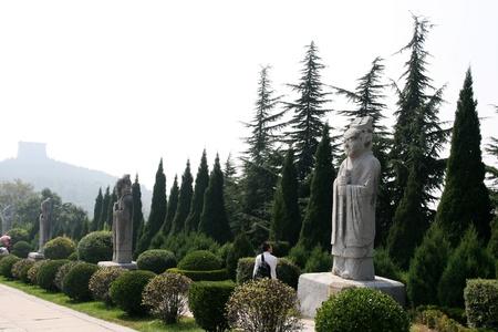 Qianling Mausoleum in Xi an,China Stock fotó - 15860596