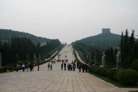 Qianling Mausoleum in Xi an,China Stock fotó - 15860600