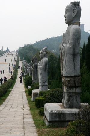 Qianling Mausoleum in Xi an,China Stock fotó - 15860608