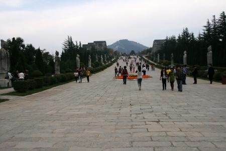Qianling Mausoleum in Xi an,China  Stock fotó - 15855173