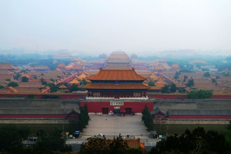 the Imperial Palace museum-the place of interest in China